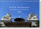 Im Park von Sanssouci Spaziergang durch die Jahreszeiten (Tischkalender 2022 DIN A5 quer)