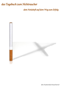 das Tagebuch zum Nichtraucher