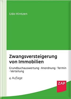 Udo Hintzen. Zwangsversteigerung von Immobilien -