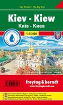 Kiew, Stadtplan 1:15.000, City Pocket + The Big Five