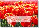 Tulpenzauber (Tischkalender 2022 DIN A5 quer)