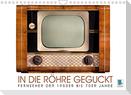Fernseher der 1950er bis 70er Jahre: In die Röhre geguckt (Wandkalender 2022 DIN A4 quer)