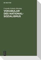 Vokabular des Nationalsozialismus