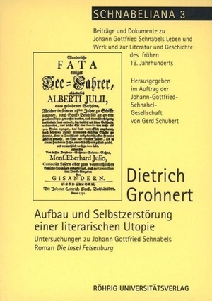 Grohnert, Dietrich. Aufbau und Selbstzerstörung e