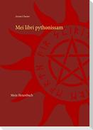 Mei libri pythonissam