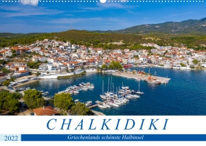 Grellmann, Tilo. Chalkidiki - Griechenlands schönste Halbinsel (Wandkalender 2022 DIN A2 quer) - Halbinsel Chalkidiki (Monatskalender, 14 Seiten ). Calvendo, 2021.