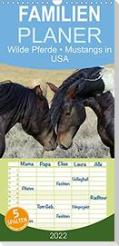 Wilde Pferde . Mustangs in USA (Wandkalender 2022 , 21 cm x 45 cm, hoch)