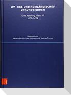 Liv-, Est- und Kurländisches Urkundenbuch