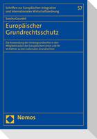 Europäischer Grundrechtsschutz