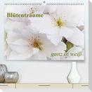 Blütenträume - ganz in weiß / CH-Version (Premium, hochwertiger DIN A2 Wandkalender 2021, Kunstdruck in Hochglanz)