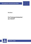 Die Parteigerichtsbarkeit der NSDAP