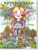 Garten Bastelbogen