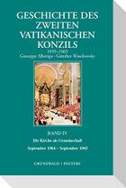 Geschichte Des Zweiten Vatikanischen Konzils, Band IV. Die Kirche ALS Gemeinschaft. September 1964 - September 1965: Deutsche Ausgabe Herausgegeben Vo