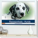 Rasseportraits - Hunde (Premium, hochwertiger DIN A2 Wandkalender 2022, Kunstdruck in Hochglanz)