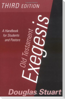 Old Testament Exegesis (T