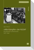 »Alte Kämpfer« der NSDAP