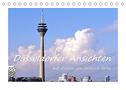 Düsseldorfer Ansichten mit Zitaten von Heinrich Heine (Tischkalender 2022 DIN A5 quer)