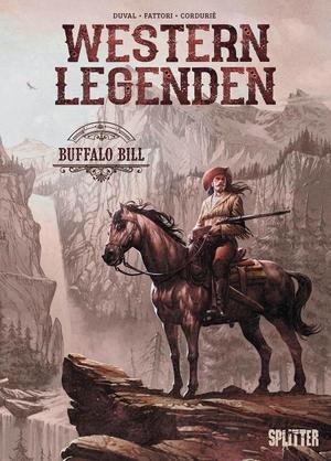 Duval, Fred. Western Legenden: Buffalo Bill. Splitter Verlag, 2022.
