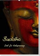 Buddha - Zeit für Entspannung (Wandkalender 2021 DIN A2 hoch)