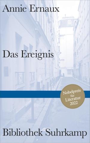 Ernaux, Annie. Das Ereignis. Suhrkamp Verlag AG, 2021.