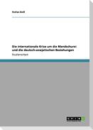 Die internationale Krise um die Mandschurei und die deutsch-sowjetischen Beziehungen
