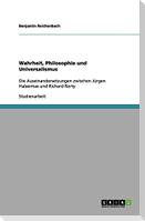 Wahrheit, Philosophie und Universalismus