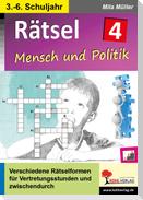 Rätsel / Band 4: Mensch und Politik