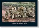 Tiere in der Wildnis 2022 Fotokalender DIN A4
