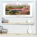 Gärten in Japan (Premium, hochwertiger DIN A2 Wandkalender 2022, Kunstdruck in Hochglanz)