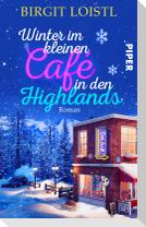Winter im kleinen Cafe in den Highlands