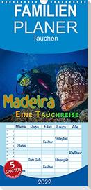 Madeira, eine Tauchreise - Familienplaner hoch (Wandkalender 2022 , 21 cm x 45 cm, hoch)
