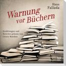 Warnung vor Büchern
