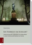 Ein Feierkult um Schiller?