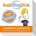 AzubiShop24.de Kombi-Paket Lernkarten Fachmann/-frau für Systemgastronomie