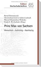 Prinz Max von Sachsen: Priester und Visionär