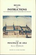 Recueil des instructions aux ambassadeurs et ministres de France