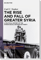 The Rise and Fall of Greater Syria