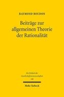 Beiträge zur allgemeinen Theorie der Rationalität