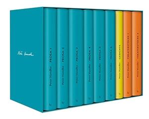 Peter Handke. Handke Bibliothek I - Bde. 1-9 Prosa, Gedichte, Theaterstücke. Suhrkamp, 2018.