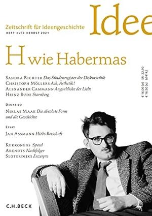 Zeitschrift für Ideengeschichte Heft XV/3 Herbst 2021. Beck C. H., 2021.