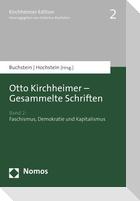 Otto Kirchheimer - Gesammelte Schriften