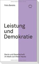 Leistung und Demokratie