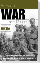 Between War and Peace: Woodrow Wilson & the American Expeditionary Force in Siberia, 1918-1921