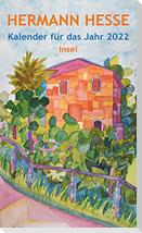 Insel-Kalender für das Jahr 2022