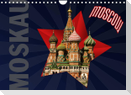 Moskau - Moscow (Wandkalender 2022 DIN A4 quer)