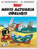 Asterix Latein Bd. 21. Navis Actuaria Obeligis