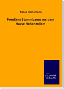 Preußens Stammbaum aus dem Hause Hohenzollern