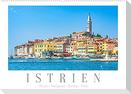 Istrien - Piran . Novigrad . Rovinj . Pula (Wandkalender 2022 DIN A2 quer)