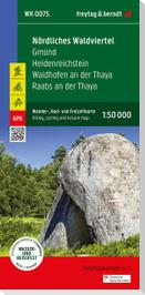 Nördliches Waldviertel - Gmünd - Heidenreichstein - Waidhofen a.d. Thaya - Raabs a.d. Thaya, Wander + Radkarte 1:50.000