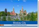 Moskau City (Wandkalender 2022 DIN A2 quer)